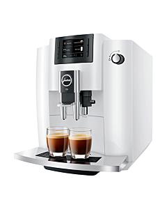Jura E6 Model 2020 espressomachine 1,9 liter Piano White (EB)