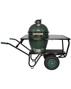 Big Green Egg kruiwagen met rvs werkblad incl. Large barbecue