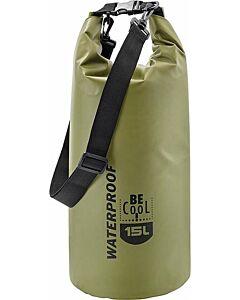 Be Cool Tube Cooler Waterproof koeltas 15 liter olijfgroen