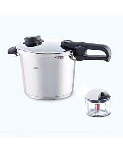 Fissler Vitavit Premium snelkookpan 6 liter rvs glans Incl. Finecut groentehakker