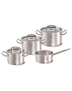 Fissler original-profi collection pannenset met rvs deksels 4-delig