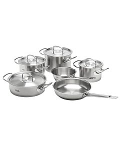 Fissler original-profi collection pannenset met rvs deksels 6-delig