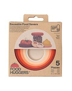 Food Huggers Terracotta vorm silicone 5-delig