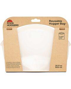 Food Huggers Hugger Bag herbruikbare zak 900 ml Clear