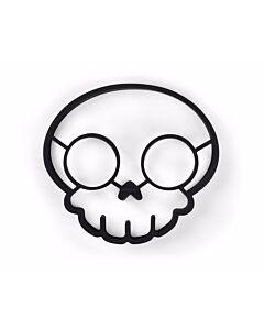 Fred Ei-bakring 'Funny Side Up' Skull