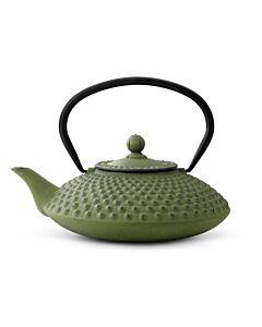 Bredemeijer Xilin Jing theepot 1,25 liter gietijzer groen