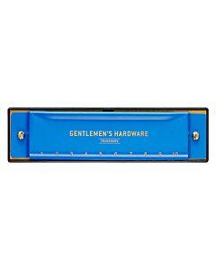 Gentlemen's Hardware mondharmonica blauw