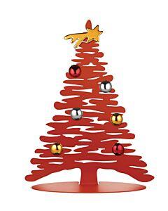 Alessi BM06/30 R Bark for Christmas kerstboom rvs rood