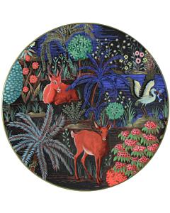 Gien Le Jardin du Palais Antilope dessertbord ø 22 cm keramiek