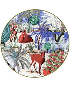 Gien Le Jardin du Palais Antilope gebaksbord ø 17 cm keramiek