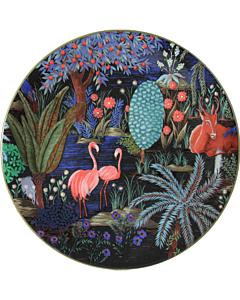 Gien Le Jardin du Palais Flamant Rose dessertbord ø 22 cm keramiek