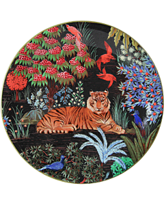 Gien Le Jardin du Palais Tigre dessertbord ø 22 cm keramiek