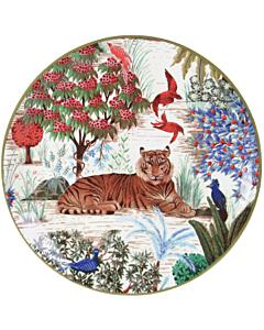 Gien Le Jardin du Palais Tigre gebaksbord ø 17 cm keramiek