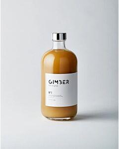 Gimber biologisch gemberconcentraat 0% alcohol 500 ml