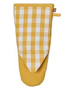 Ulster Weavers Gingham Yellow ovenwant katoen geel
