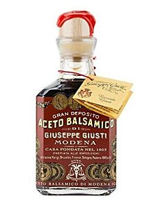 Giuseppe Giusti Riccardo Giusti balsamico-azijn 12 jaar 250 ml
