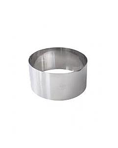 Gobel kookring ø 7 cm h 4,5 cm rvs