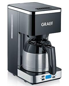 Graef filterkoffiemachine met isoleerkan 1 liter zwart