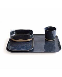 Serax Merci serviesset aardewerk grijsblauw 16-delig