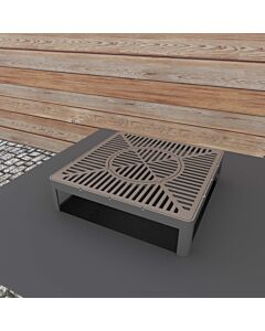Quan 3-in-1 Grill, Spit Roast and Wok accessoire 50 x 50 x 15 cm