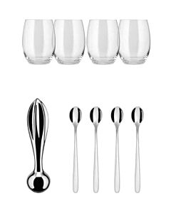 Alessi The Player cocktailset 9-delig