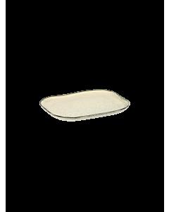 Serax Merci bord rechthoekig no 3 M zandsteen 14,5 x 10,5 cm gebroken wit