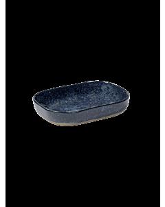 Serax Merci diep bord rechthoekig no 7 M zandsteen 14,5 x 10,5 x 3 cm grijsblauw
