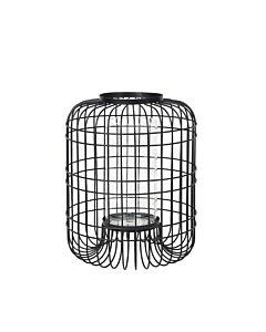 Broste Copenhagen Wire lantaarn ø 25 cm metaal zwart