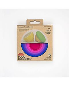 Food Huggers Bright Berry vorm silicone 5-delig
