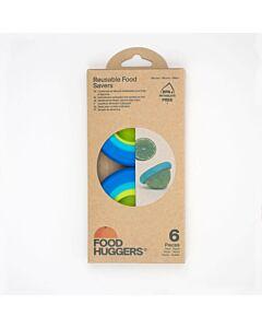 Food Huggers Small food hugger vorm silicone 6-delig