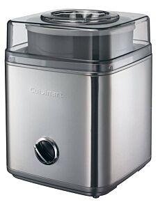 Cuisinart de Luxe ijsmachine elektrisch 1,5 liter rvs mat