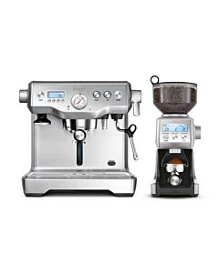 Sage the Dynamic Duo Espressomachine 2-delig Stainless Steel