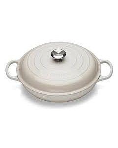 Le Creuset multifunctionele braadpan 2 liter ø 26 cm gietijzer Meringue