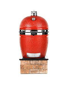 Kamado Joe Pro Joe barbecue keramiek rood