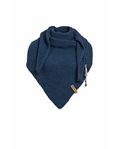 Knit Factory Coco omslagdoek 190 x 85 cm wol acryl Jeans