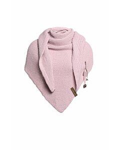 Knit Factory Coco omslagdoek 190 x 85 cm wol acryl Roze