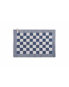 Knit Factory placemat 50 x 30 cm katoen acryl ecru Jeans