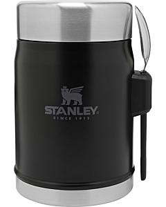 Stanley Classic Food Jar + Spork 400 ml mat zwart