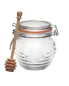 Kilner honingpot met honinglepel 400 ml glas