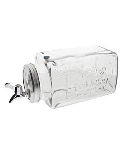 Kilner koelkast dispenser 3L glas