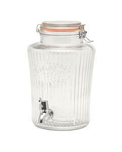 Kilner Vintage limonadetap 5 liter glas