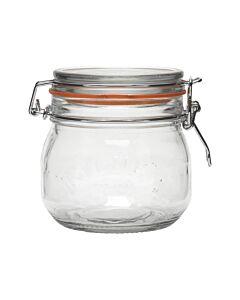 Kilner weckpot met beugel 500 ml glas transparant