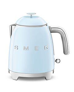 SMEG 50's style mini waterkoker 800 ml staal pastelblauw