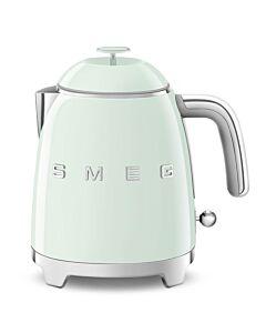 SMEG 50's style mini waterkoker 800 ml staal watergroen