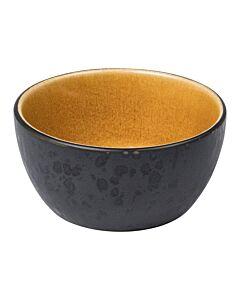 Bitz kom ø 10 cm aardewerk Black/Amber