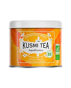 Kusmi Tea BIO AquaExotica losse thee 100 gr oranje