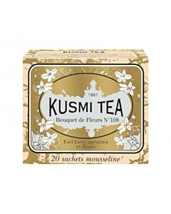Kusmi Tea BIO Bouquet of Flowers N°108 20 theezakjes crème