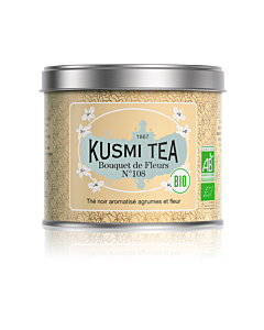 Kusmi Tea BIO Bouquet of Flowers N°108 losse thee 100 gr crème