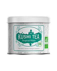Kusmi Tea BIO Tropical White losse thee 100 gr wit