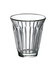 La Rochère Zinc limonadeglas met ribbel 200 ml glas